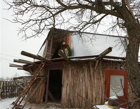 Konopný dům Petra Žáčka v Podviní u Litoměřic