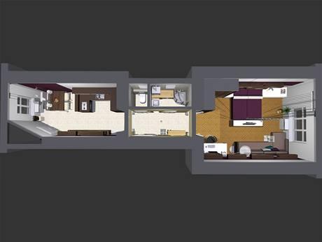 Proměna bytu 1+1