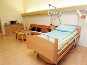 Pokoj, kde se bude léčit exprezident Václav Havel