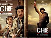 Benicio Del Toro jako Che Guevara. Plakát k filmu