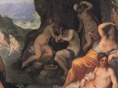Hans Rottenhammer - Diana a Akteon (1602)