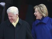 Bill a Hillary Clintonovi na inauguraci Baracka Obamy