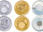 Pamětní zlaté a stříbrné mince a medaile vydané k našemu předsednictví Unie