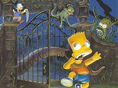 Simpsonovi: Nervy v kýblu bublin (obálka komiksu)