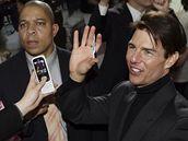 Tom Cruise na premiéře filmu Valkýra v Soulu