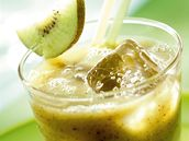Nápoj z kiwi a banánu