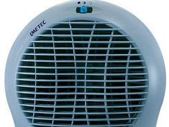 Nejlevnější teplovzdušné ventilátory mají jen přepínání výkonu