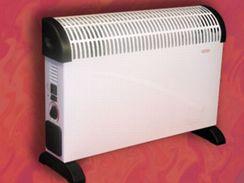 Konvektory je možné použí i bez ventilátoru
