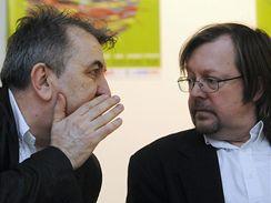 Febiofest 2009 - Fero Fenič a Štefan Uhrik na tiskové konferenci