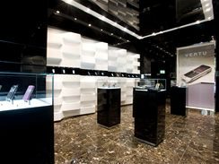 Oficiální Vertu store v Pařížské ulici