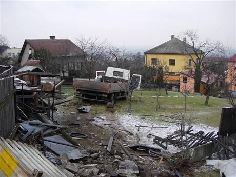 Tragická nehoda mezi u Hrabyně na Opavsku (30.1.2009)