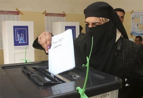 Provinční volby v Iráku.