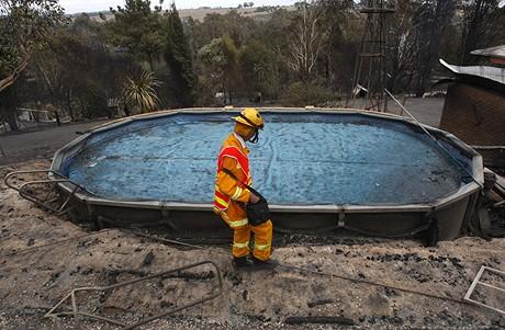 Požáry v Austrálii (8.2.2009)
