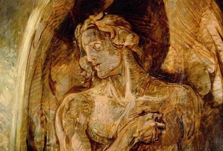 Emil Holárek: Anděl (po 1910)