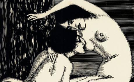 František Kobliha: z cyklu Kleopatra (1910)