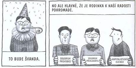 z komiksu Pchjongjang