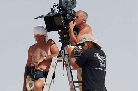 Z nat��en� filmu Tobruk - Vladim�r Smutn�