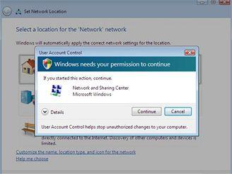 Zabezpečení UAC ve Windows Vista a 7
