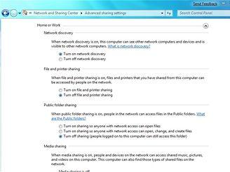 Nastavení domácí síte ve Windows 7