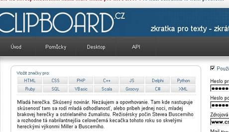Clipboard.cz