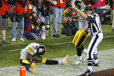 Touchdown Santonia Holmese z Pittsburghu