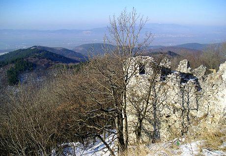 Slovensko, výlet na hrad Tematín