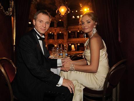 Taťána Kuchařová a Milan Richter