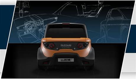 Městský elektromobil Tazari Zero