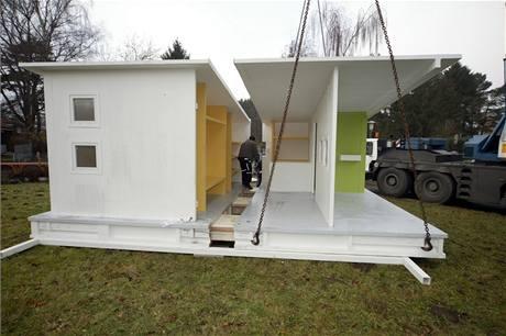 Dům z recyklovaného papíru