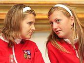 Fed Cup: Lucie Šafářová, Petra Kvitová