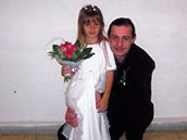 Michaela s otcem Leošem Lohniským