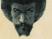 Karel Hlaváček: Můj Kristus (1897, autoportrét)