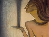 Jan Konůpek: Salome, Černý plamen (kolem 1910)