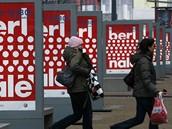 Berlinale 2009 - plakáty v centru Berlína