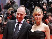 Berlinale 2009 - herečka Kate Winsletová s kolegou  Ralphem Fiennesem na premiéře filmu Předčítač