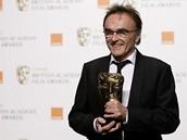 BAFTA 2009 - režisér Danny Boyle s cenou za film Milionář z chatrče