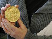 Kilogramová pamětní medaile k předsednictví (9. února 2009)