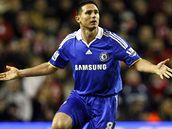Liverpool - Chelsea: Lampard po té, co fauloval Alonsa