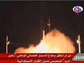 Vypuštění satelitu vysílala v přímém přenosu iránská státní televize.