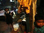 Milionář z chatrče - causa děti