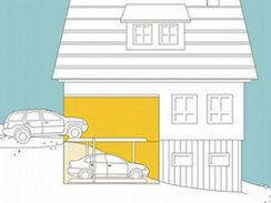 Vícepodlažní parkování je možné řešit i v běžných garážích