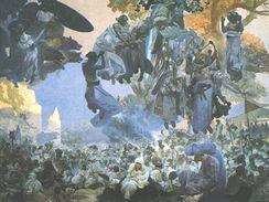 Slavnost Svantovítova na Rujáně - Slovanské epopeje Alfonse Muchy