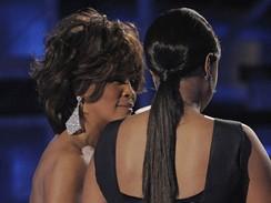 Grammy 2009 - zpěvačky Whitney Houstonová a Jennifer Hudsonová