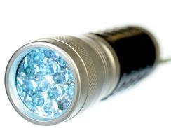 Baterie s LED diodami