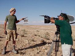 Z natáčení filmu Tobruk - Vojta Kotek