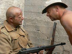 Z natáčení filmu Tobruk - Václav Marhoul