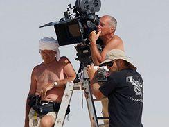 Z natáčení filmu Tobruk - Vladimír Smutný