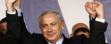 Benjamin Netanjahu (10. února 2009)