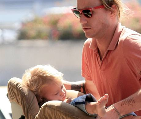 Herec Heath Ledger s dcerou Matildou