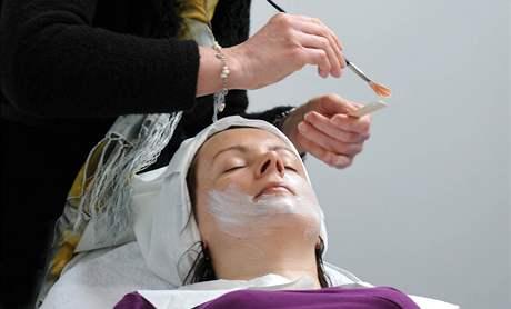 Předvádění kosmetiky na STYL KABO
